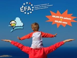 Манифест на Европейска федерация на асоциациите на пациенти с алергии и заболявания на дихателните пътища (EFA) за изборите за Европейски парламент през 2014 г.