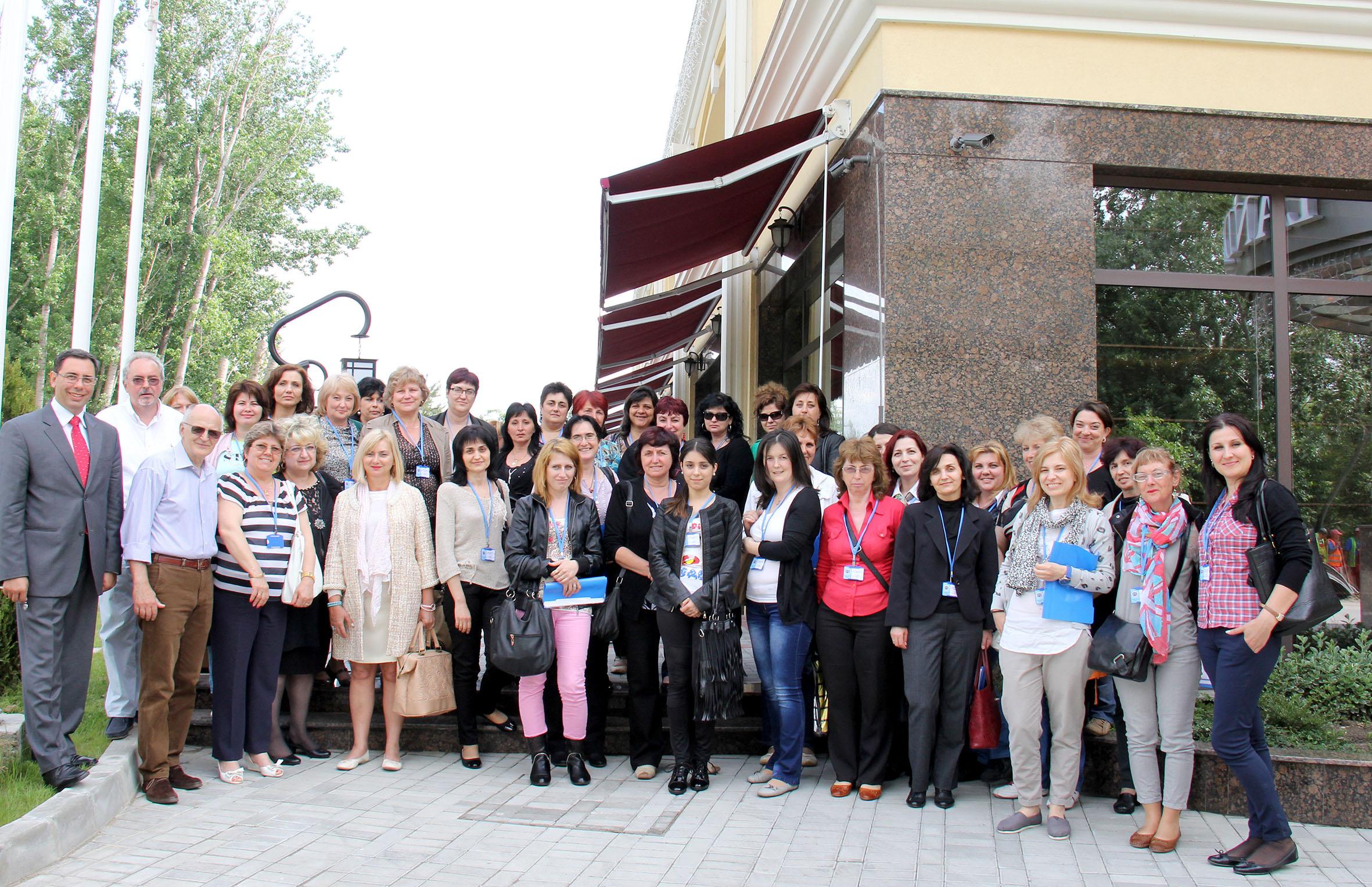 Сестри и преподаватели в курса IMG_9671