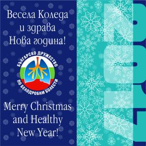 Весела Коледа и здрава Нова година!